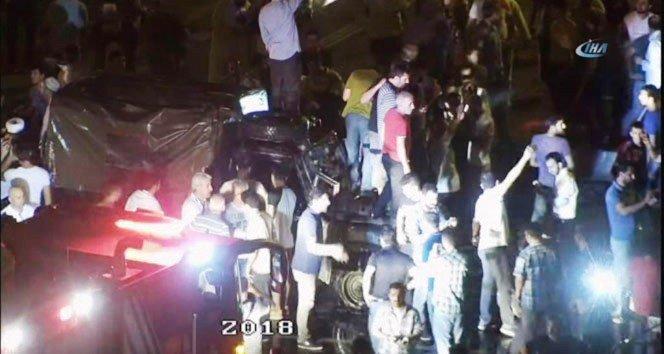 Polisin darbecilerle çatıştığı o sıcak saatler!