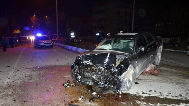 Pazarcık'ta Trafik Kazası: 1 Ölü, 4 Yaralı!