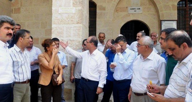 Abdülhamit tarafından yaptırılan cami restore edilecek
