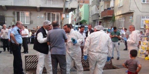 Ayrı yaşadığı eşinin evinin önünde bomba patlattı!