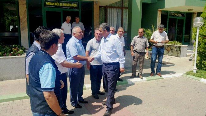 Milletvekili Güvenç, DSİ ve Orman Müdürlerini ziyaret etti!
