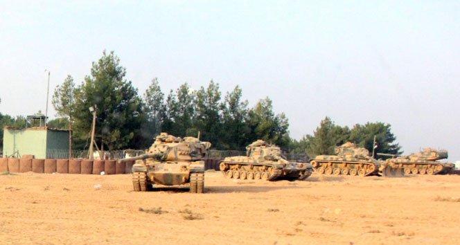 TSK, Cerablus'a askeri harekat başlattı!