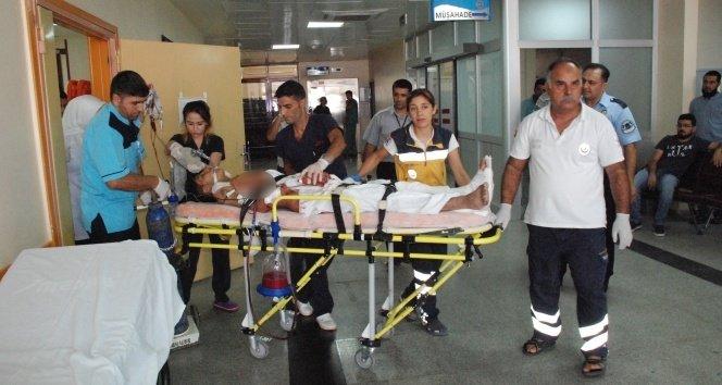 Yaralanan 4 ÖSO askeri Gaziantep'e getirildi!