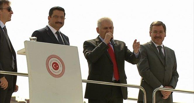 Başbakan Yıldırım Ankaralılara seslendi!