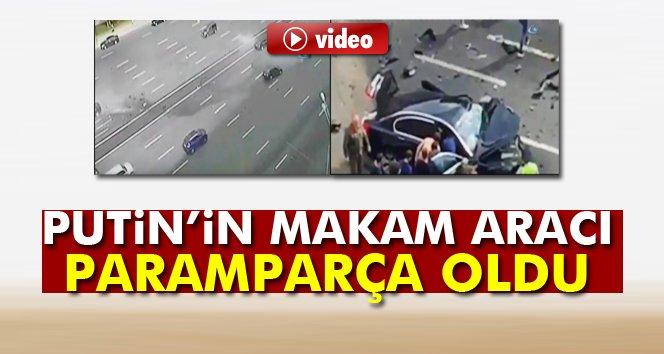 Putin'in makam aracı kaza yaptı: Şoförü öldü!