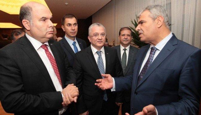 KMTSO'dan Başbakan Yardımcısı Kaynak'a ziyaret