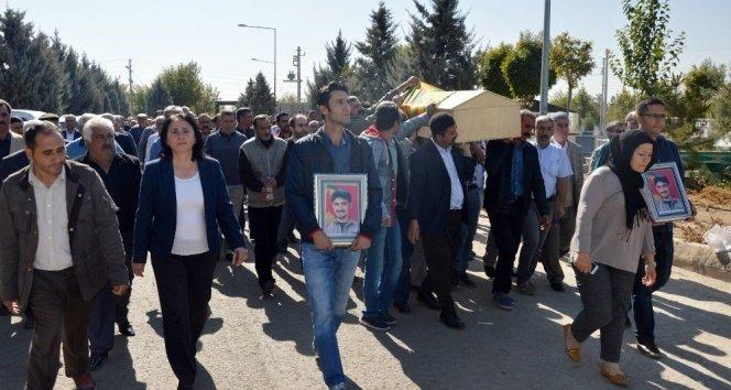 Teröristin cenazesine katılan HDP'li vekile soruşturma!