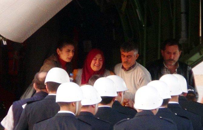 Şehit Polisin naaşı Kahramanmaraş'a getirildi