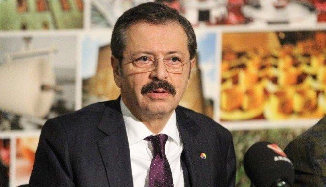 """Hisarcıklıoğlu: """"ATO'ya en kısa sürede Kayyum atayacağız"""""""