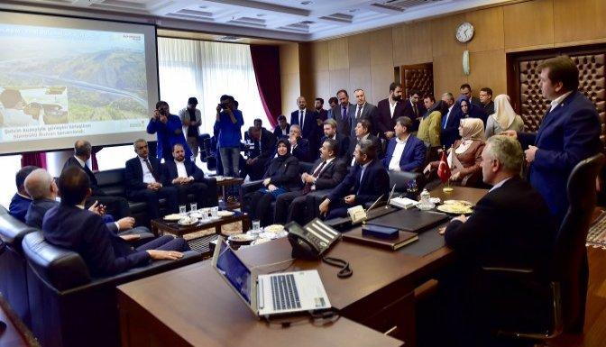 Genel Başkan Yardımcısı Ataş'tan Büyükşehir'e ziyaret