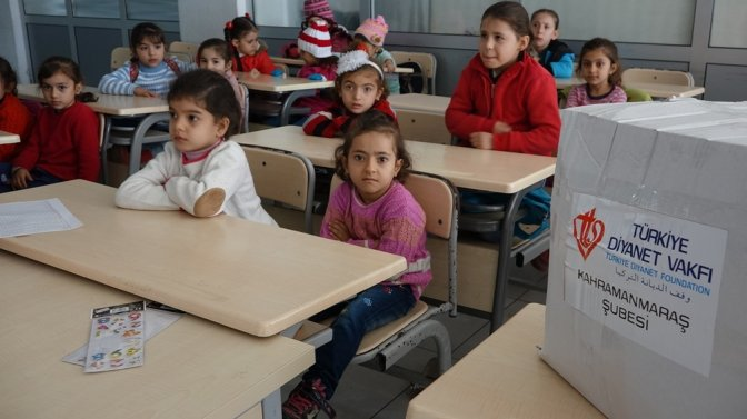 Diyanet Vakfının Şefkateli Suriyelilere Uzandı