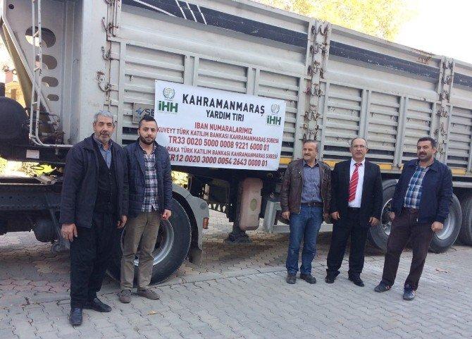 Kahramanmaraş'tan Suriye'ye yardımlar devam ediyor