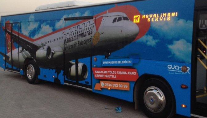 Havaalanı otobüsü hizmete girdi