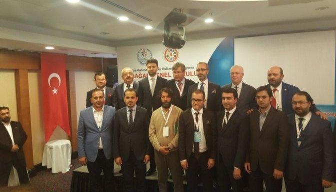 Geleneksel spor dalları federasyonu 4. kongresi tamamlandı