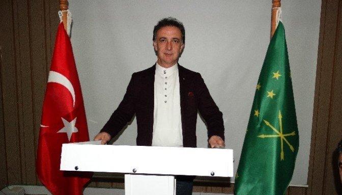 Kahramanmaraş Kafkas Kültür Derneği yeni yönetimi basınla buluştu