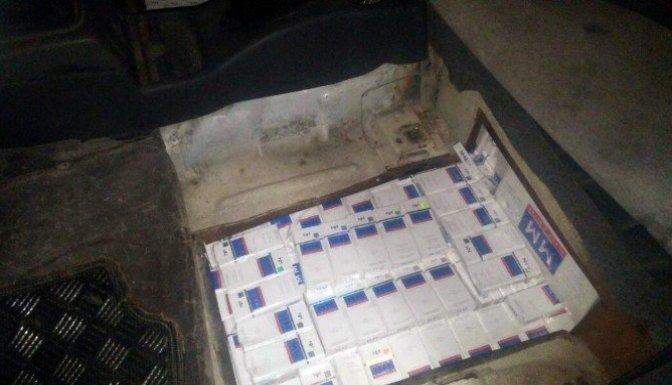 Hafif ticari araçtan 4 bin 300 paket kaçak sigara çıktı