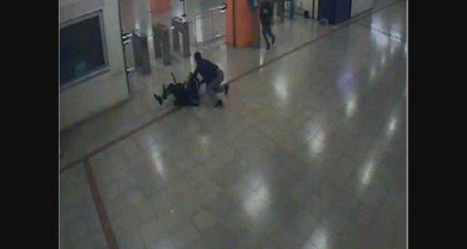 Metroda beleşçiler dehşet saçtı!