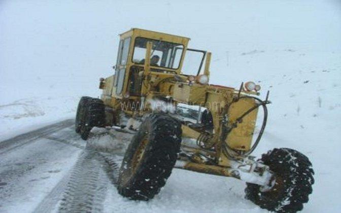 Iğdır'da 72 köy yolu ulaşıma kapandı!