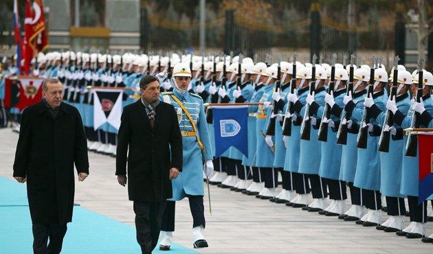 Slovenya Cumhurbaşkanı Pahor'dan TBMM'ye ziyaret!