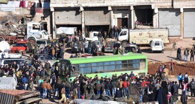 Halep'ten tahliyeler sürüyor!