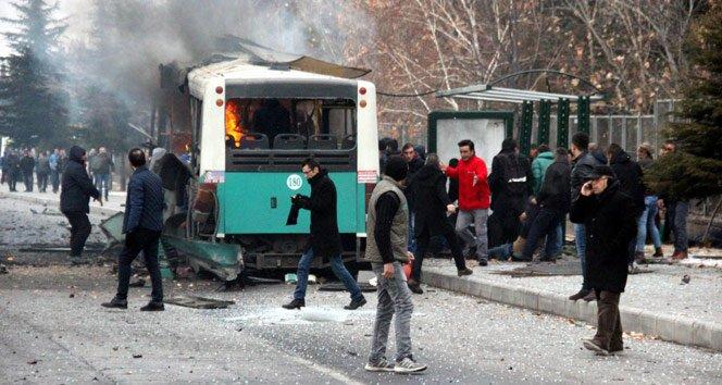 Kayserili vatandaşlar patlama sonrası yaralıların yardımına koştu!