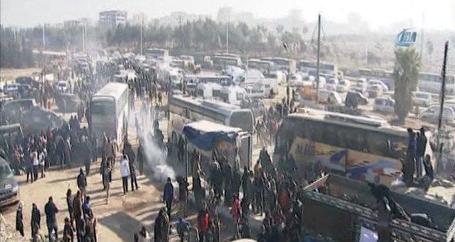 Halep'te tahliyeler devam ediyor!
