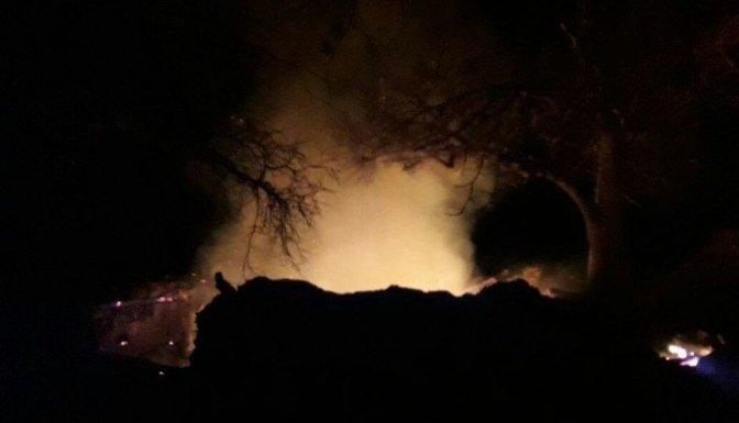 Yaşlı adam evinde çıkan yangında yanarak yaşamını yitirdi