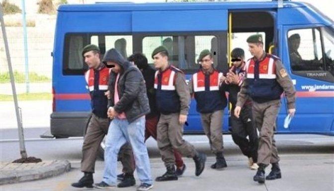 Jandarma, hırsızları suçüstü yakaladı