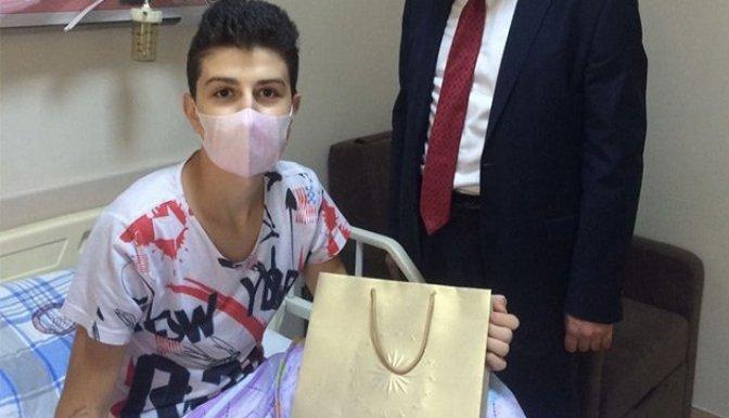 Lösemi hastası 15 yaşındaki Adem kurtarılamadı!