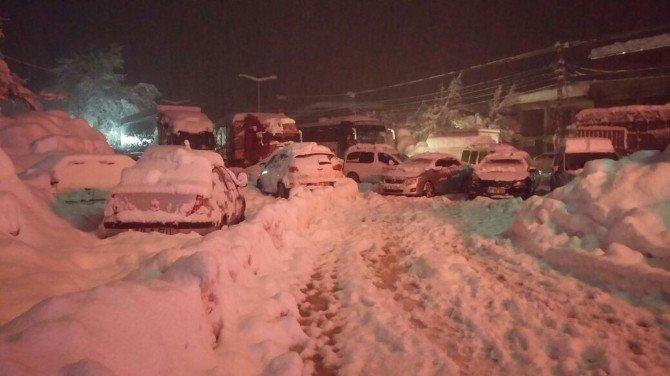 Kahramanmaraş-Kayseri yolu trafiğe kapandı!