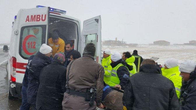 Nevşehir'de otobüs devrildi: 20 yaralı!