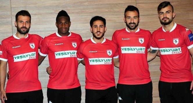Samsunspor 5 futbolcuyla sözleşme imzaladı!
