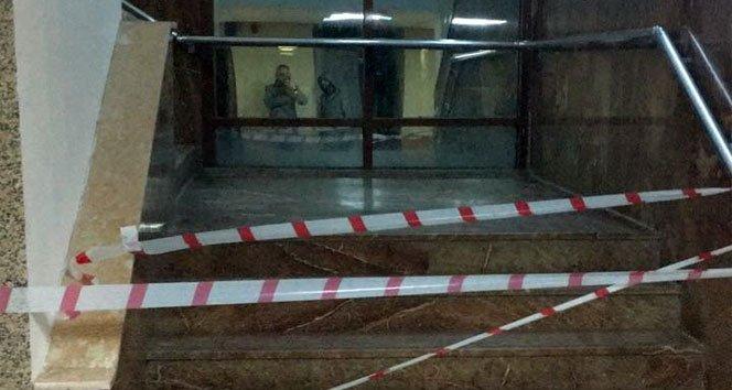 Hastanede merdiven boşluğuna düşen vatandaş öldü!
