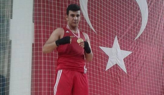 Kahramanmaraşlı genç Türkiye Şampiyonu