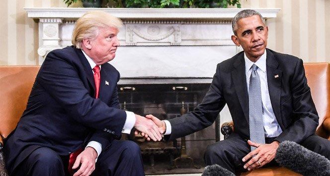 Obama'dan Trump'a tepki!