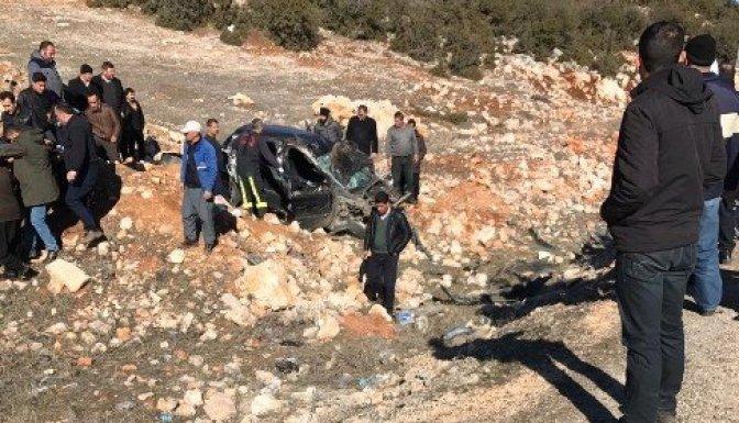 Trafik kazası: 2'si ağır 5 yaralı