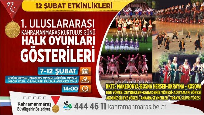 Halk Oyunları Gösterileri uluslararası düzenleniyor