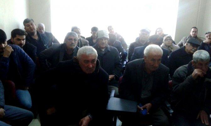 Türkoğlu'nda 'Arazi Toplulaştırması' Toplantısı