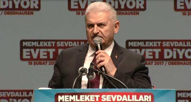 Başbakan Yıldırım: 'Terörist başını getireceğiz'!
