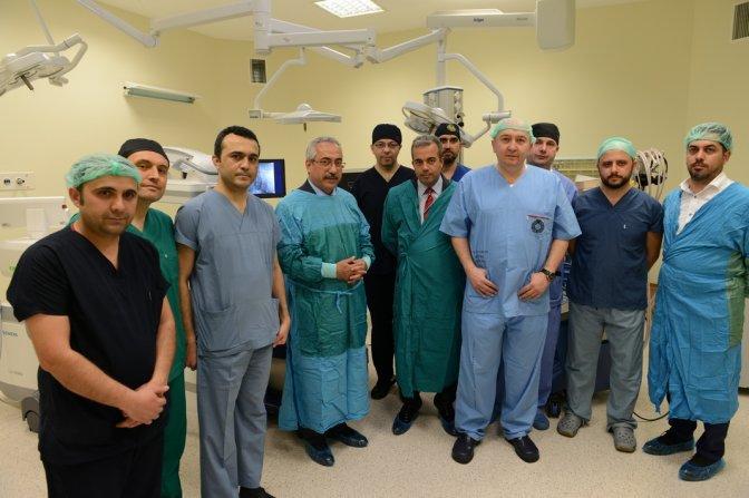 Bölgenin İlk Hibrit Ameliyathanesi KSÜ'de Hizmete Girdi!
