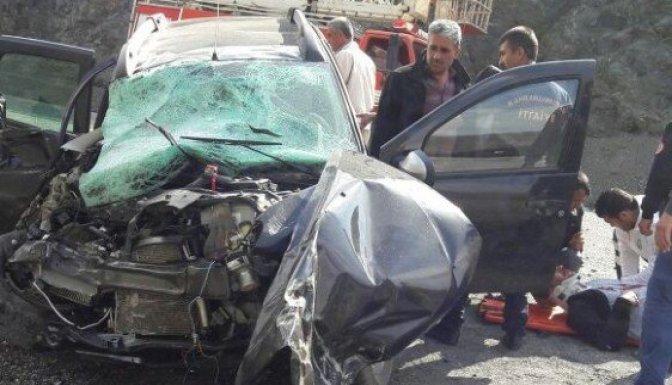 Kahramanmaraş'ta trafik kazası: 1 öü, 3 ağır yaralı!