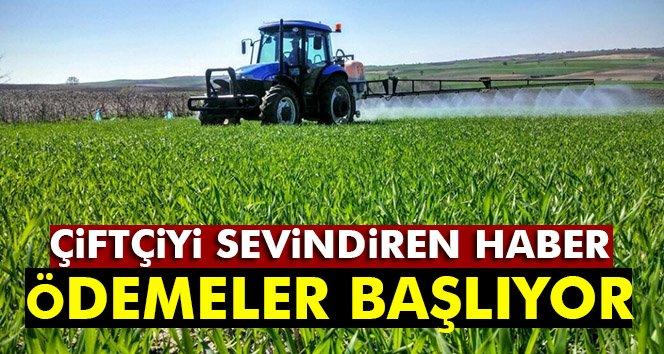 Çiftçilere destek ödemeleri başlıyor!