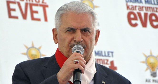 Başbakan Yıldırım'dan 16 Nisan çağrısı!