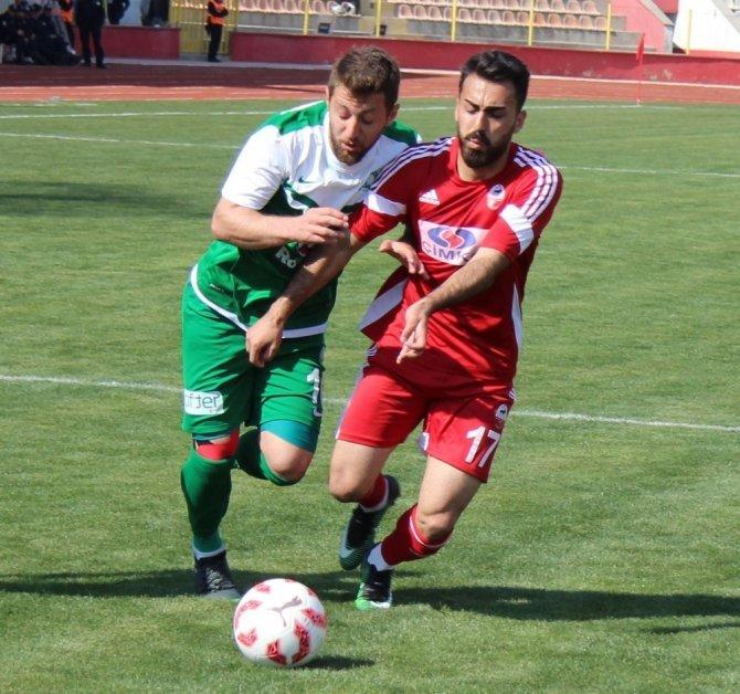 Kahramanmaraşspor-Sivas Belediyespor: 1-1