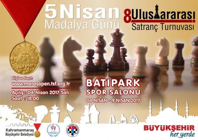 8. Uluslararası Satranç Turnuvası'na Buyrun