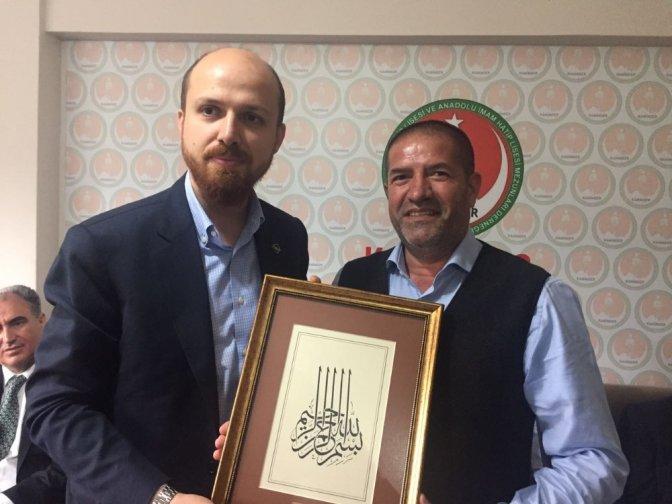 Erdoğan'dan Alpedo'ya Teşekkür Plaketi