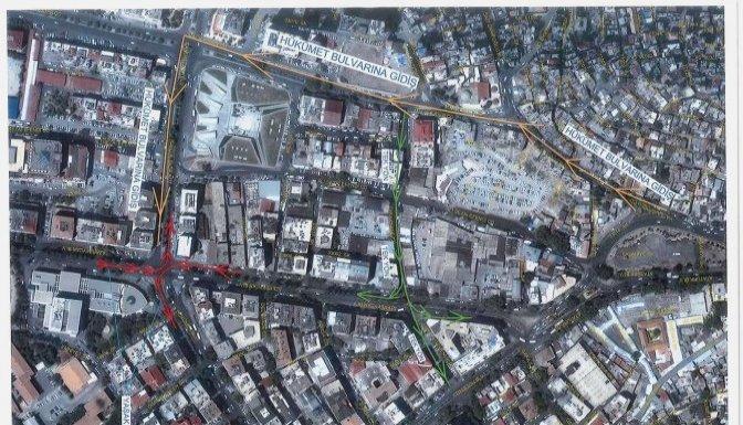 Büyükşehir'den Trafiğe Yeni Düzen