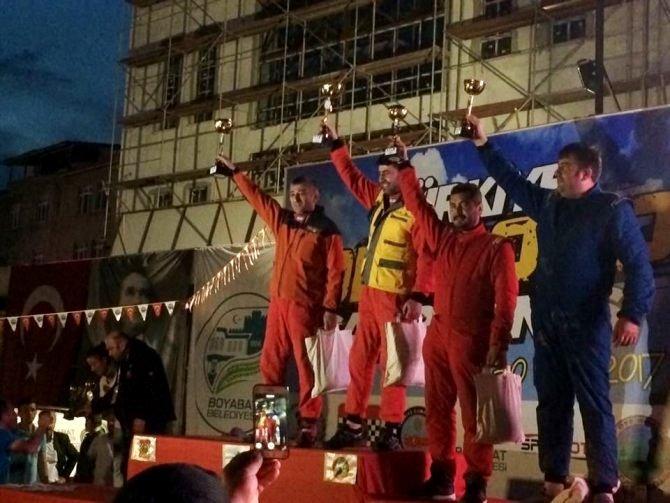 Off-Road tutkunları Sinop'tan ödülle döndü!
