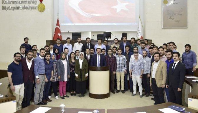 Kahramanmaraş'ta Gençlik Meclisi Kuruldu