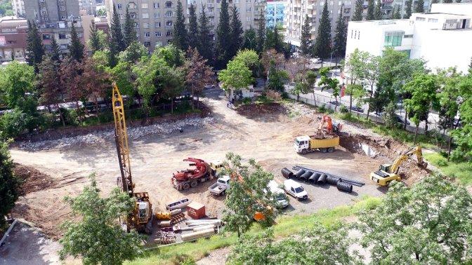 Milli İrade Meydanı'nda Çalışmalar Devam Ediyor